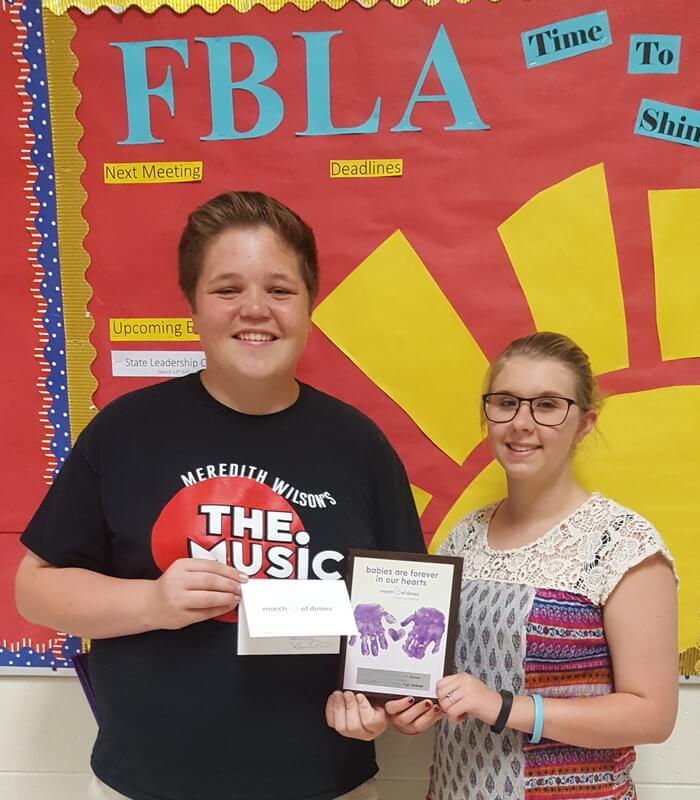 Central High School Macon Ga: BCHS FBLA Named Top FBLA Team Donor For Middle Georgia